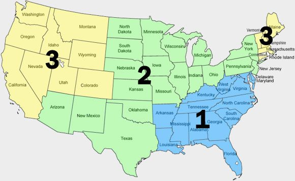 US Freight Map